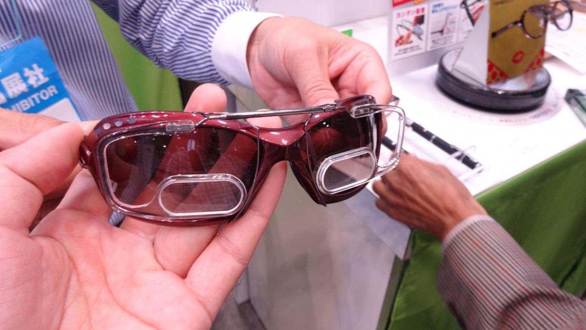 新型クリップオン老眼鏡のご紹介