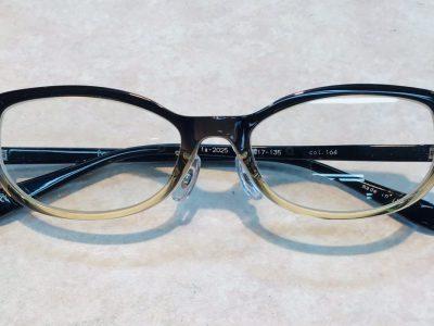 自分用メガネをまた買ってしまい・・・