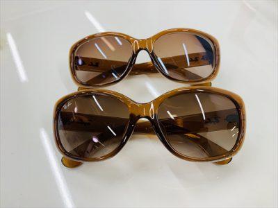 レンズの見本染色 ~持っているサングラスと色を似せて欲しい方にオススメ~