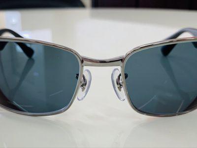 RAYBANハイカーブフレームも、度付レンズでサングラスに出来ます。