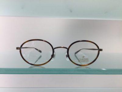 キャラが際立つメガネ その66~CLAYTON FRANKLIN 559