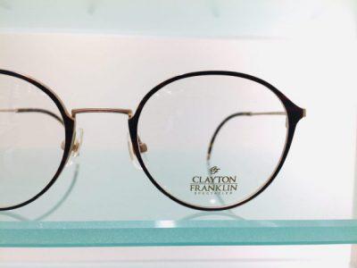 キャラが際立つメガネ その67~CLAYTON FRANKLIN 603