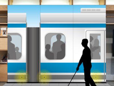 視覚障がい者の安全歩行をサポートする取り組み/G4