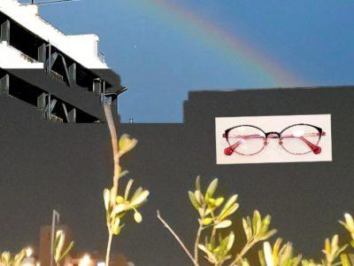 七色の虹と 色で着飾るパサパ 2518