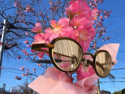 強度近視でもオシャレなウスカルフレーム。桜の季節にarchem(アルヘム)の事を考えるとオヤツ食べたくなってきた