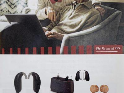 リサウンド・キーの試聴機が届きました。