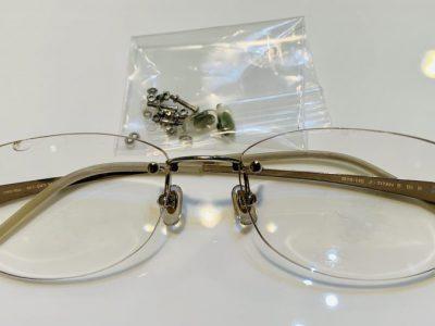 久々に酷い作りのメガネを見ました。 その弐(ツーポイント編)